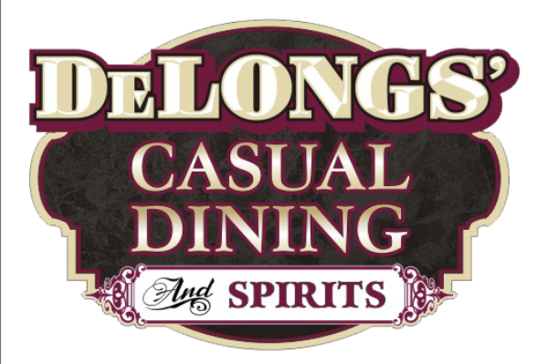 Delongs' Casual Dining logo